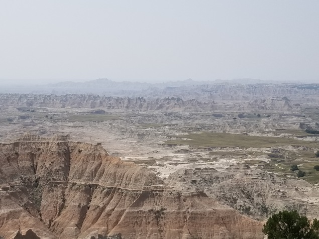 badlands view